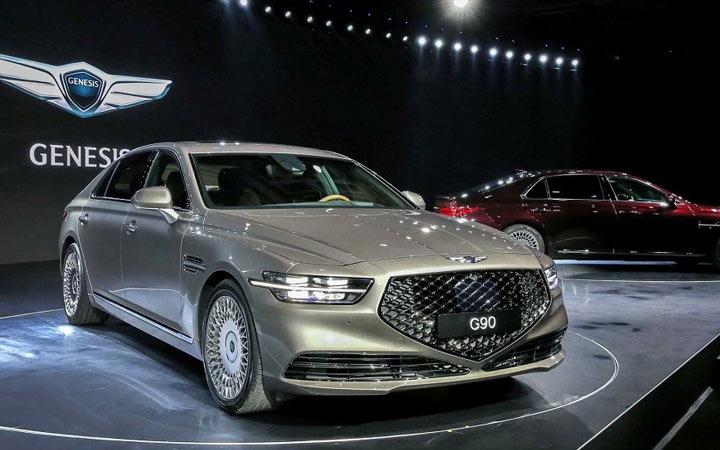 Экстерьер Hyundai Genesis G90 2019-2020