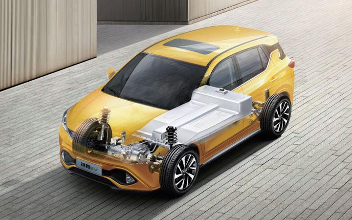 Электромобиль Mitsubishi Eupheme EV 2019-2020 года