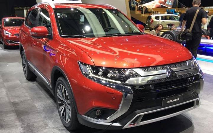 Mitsubishi Outlander 2019-2020 года
