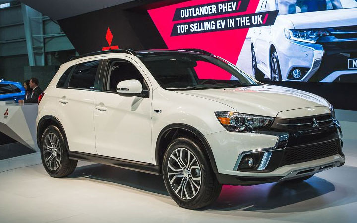 Mitsubishi ASX 2019-2020 года