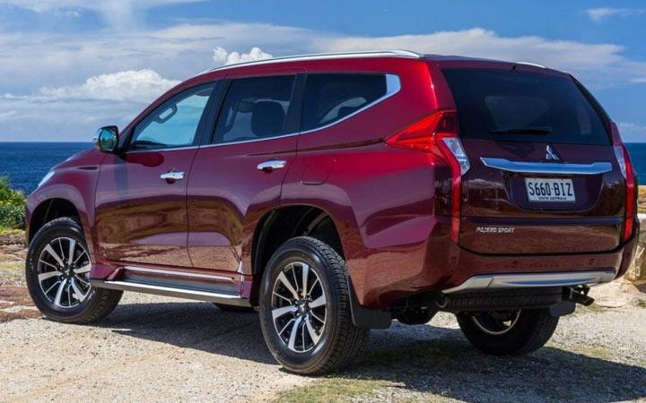 Экстерьер Mitsubishi Pajero Sport 2019-2020 года