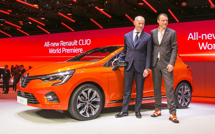 Renault Clio Женева 2019
