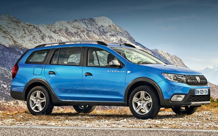 Экстерьер Renault Logan Stepway 2019-2020