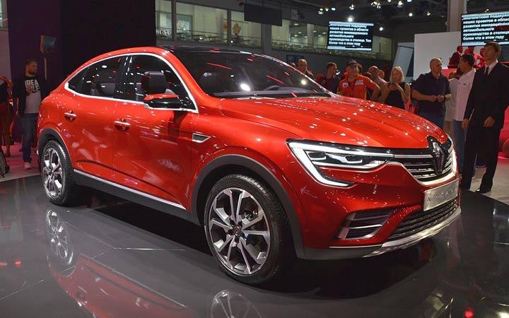 Экстерьер Renault Arkana 2019-2020