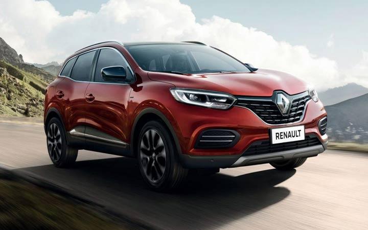Экстерьер Renault Kadjar 2019-2020