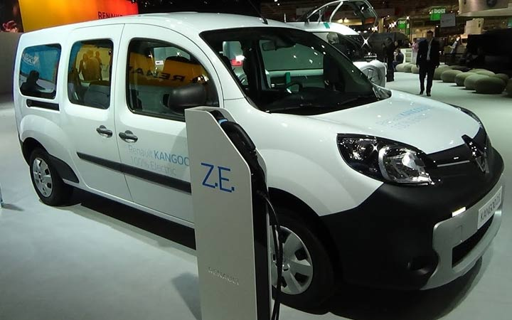 Экстерьер Renault Kangoo Z.E. 33 2019-2020