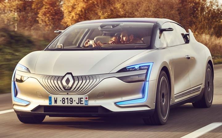 Экстерьер Renault Symbioz 2019-2020