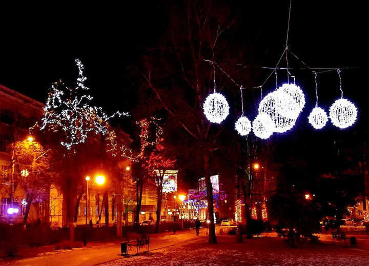 Новогодний Воронеж