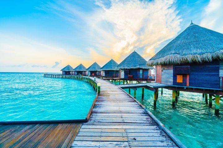 Новый 2020 год на Мальдивах
