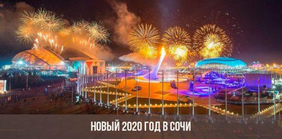 Новый 2020 года в Сочи