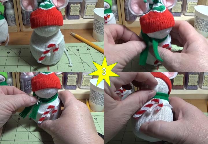 Как сделать мышку игрушку своими руками этап 3