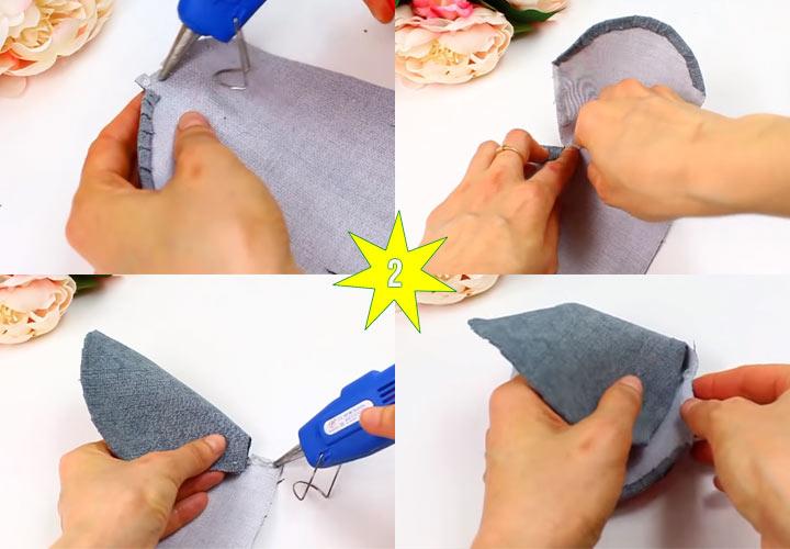 Как сделать мышку кошелек своими руками этап 2
