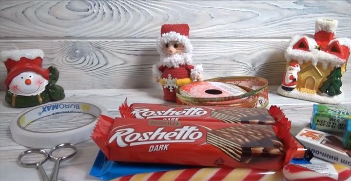 Как сделать сладкий подарок на Новый Год своими руками