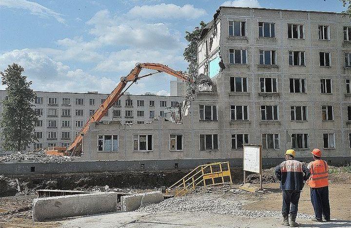 Реновация пятиэтажек в Перово
