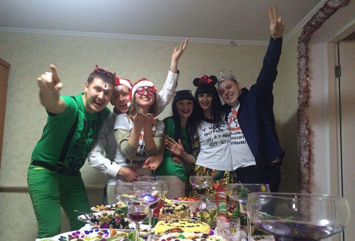 Сценарий для Нового года дома