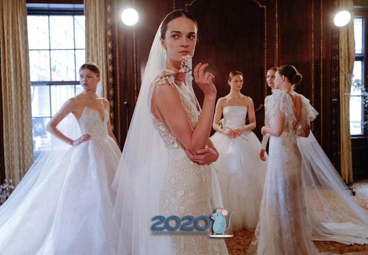 Модные свадебные платья 2020 года
