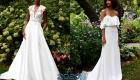 Белое свадебное платье в 2020 году тренды