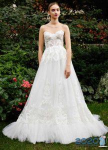 Стильное брендовое платье для невесты на 2020 год