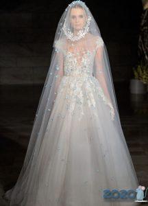 Пышное свадебное платье 2020 года