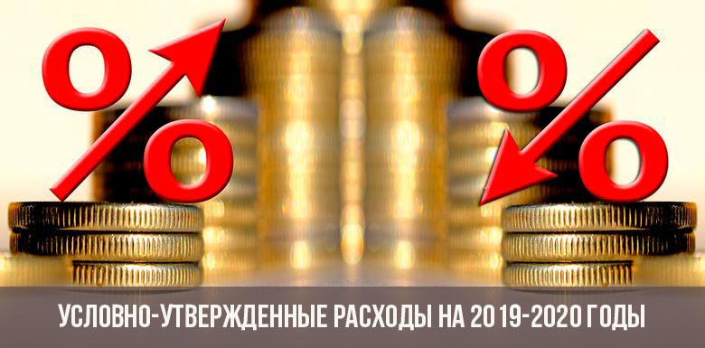 Условно-утвержденные расходы на 2019-2020 годы