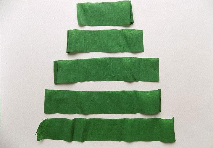 Елочка из бумаги пошаговая инструкция