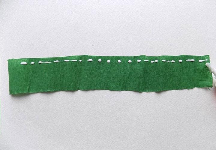 Необычная елочка из бумаги своими руками