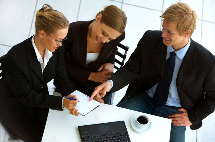 Предприниматели на совещании