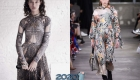 Модные модели платьев сезона осень-зима 2019-2020