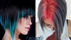 Яркая стрижка на короткие волосы мода 2020 года