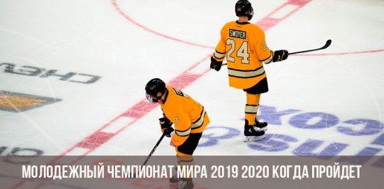 Молодежный чемпионат мира по хоккею 2020