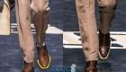 Осень-зима 2019-2020 мужская обувь цвета, модели