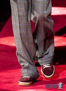 Цветные мужские туфли осень-зима 2019-2020