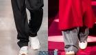 Мужская обувь белого цвета осень-зима 2019-2020