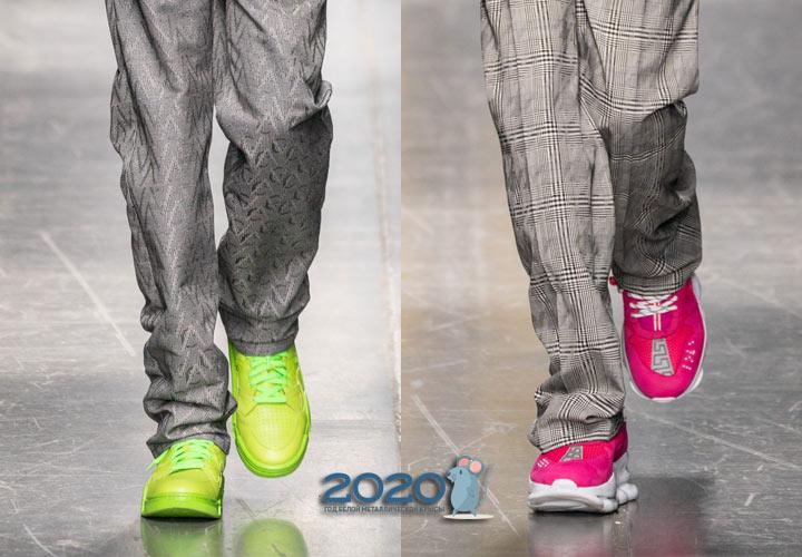 Яркие модели мужской обуви 2020 года