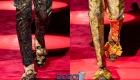Dolce & Gabbana осень-зима 2019-2020 туфли мужские с пряжками