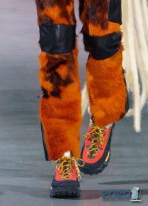Массивные кроссовки мода зимы 2019-2020