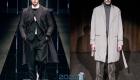 Классические плащи мужская мода осень-зима 2019-2020