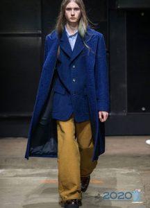 Тренд сезона осень-зима 2019-2020 года - широкие мужские брюки