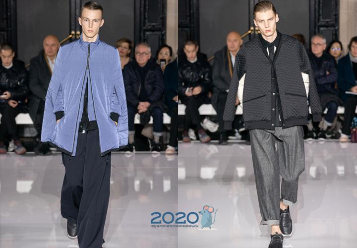 Мужская одежда осень-зима 2019-2020 года - КалендарьГода изоражения