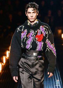 Объемный свитер осень-зима 2019-2020