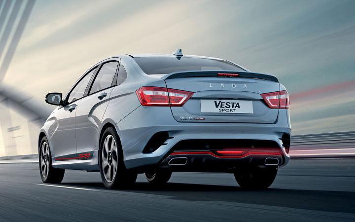 Экстерьер Vesta Sport 2020