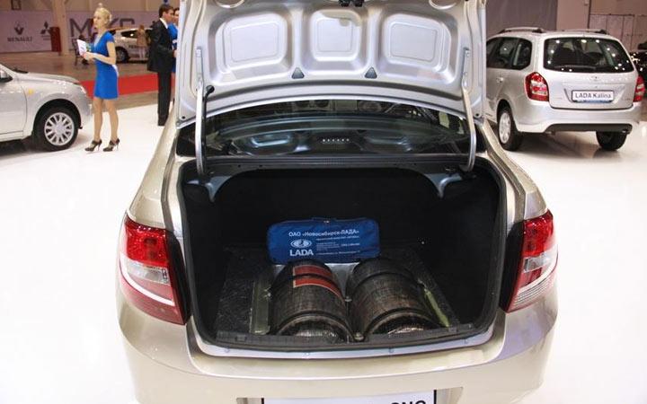 Багажник Granta CNG 2020 года