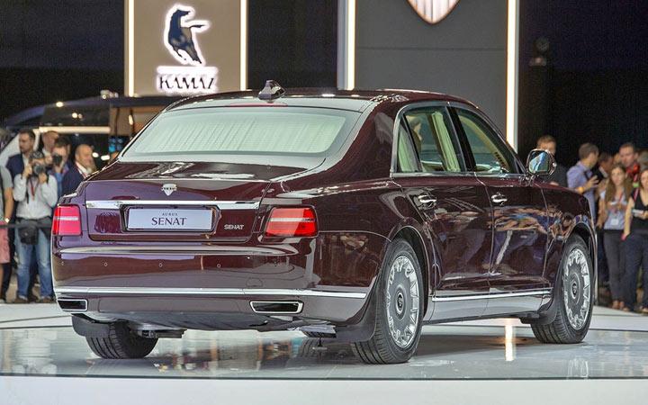 Лимузин российского производства Aurus Senat 2020 года