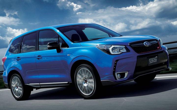 Subaru Forester STI 2019-2020 года