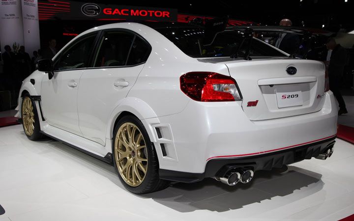 Новый Subaru WRX STI S209 2019-2020 года