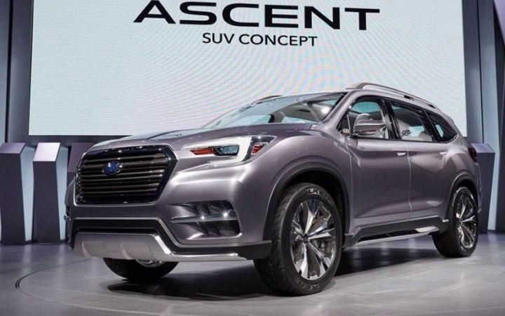 Экстерьер Subaru Ascent 2019-2020 года