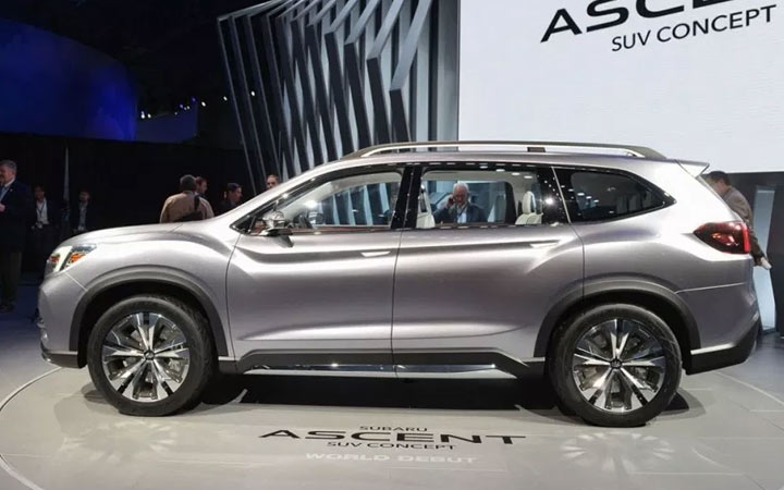 Новый Subaru Ascent 2019-2020 года