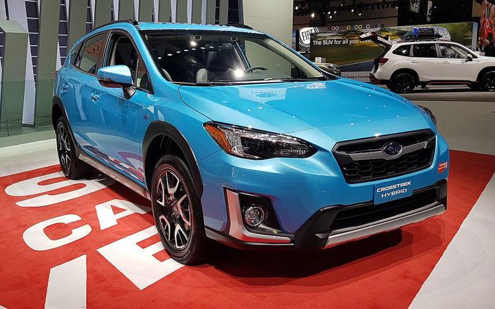 Экстерьер Subaru Crosstrek Hybrid 2019-2020 года