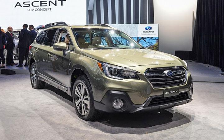 Экстерьер Subaru Outback 2019-2020 года