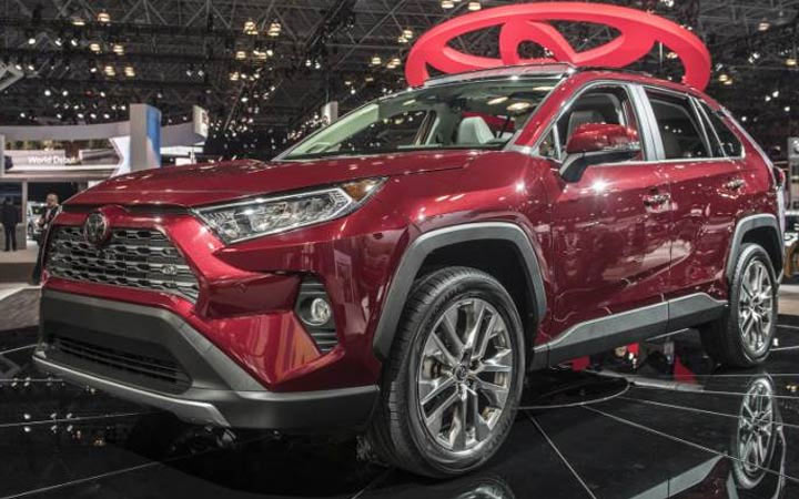 Тойота RAV 4 2019-2020